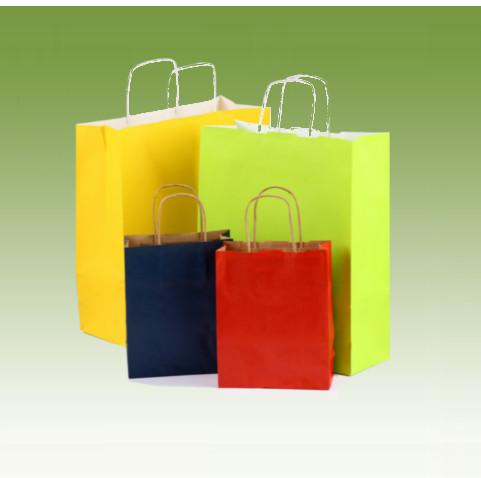 Bolsas colores con asa